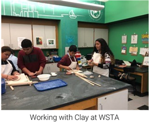 Working with Ckay at WSTA