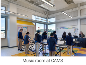 Music Room at CAMS