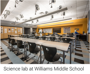 Science lab at Williams